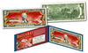 "BACCARAT Casino Game Asian *Lucky Money"" Genuine Legal Tender U.S. $2 Bills with Premium Display"