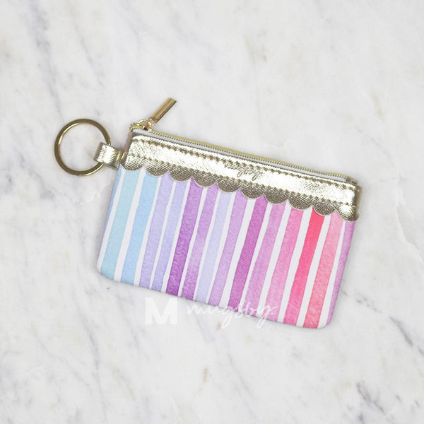 Rainbow Key Ring Wallet