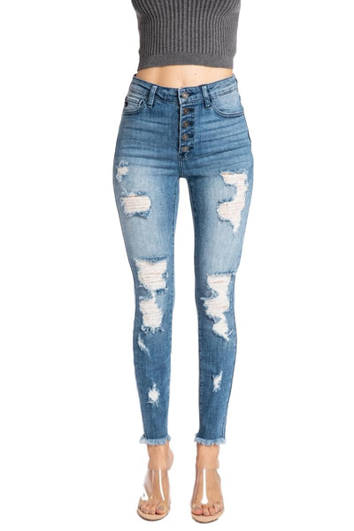 Kancan Juniper Distressed Jeans