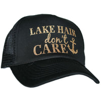 Black Gold Lake Hair Don't Care Hat