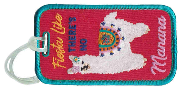 Fiesta Llama Wholesale Luggage Tags