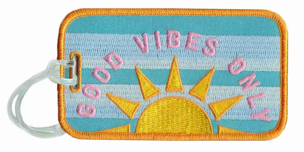 Good Vibes Only Luggage Tags