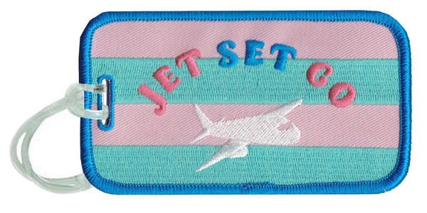Jet Set Go Luggage Tags