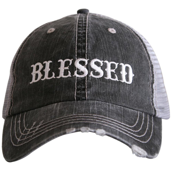 Blessed (New Font) Trucker Hats