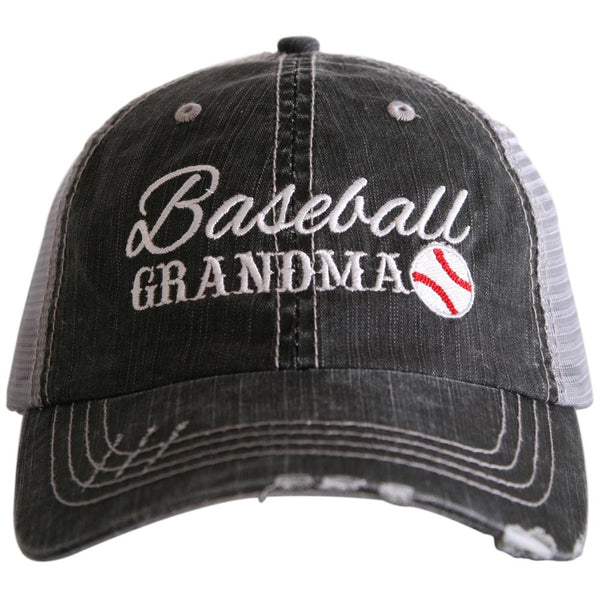 Baseball Grandma Trucker Hats