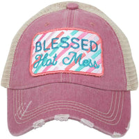 Blessed Hot Mess Hats