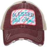 Blessed Hot Mess Trucker Hats