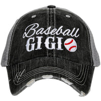 Baseball Gigi Trucker Hats