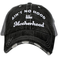 Ain't No Hood like Motherhood Trucker Hats