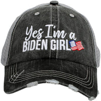 Yes I'm A Biden Girl Women's Trucker Hat
