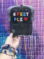 6 Feet PLZ Women's Trucker Hats