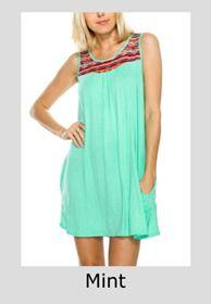 Dresses - Mint Serape Dress