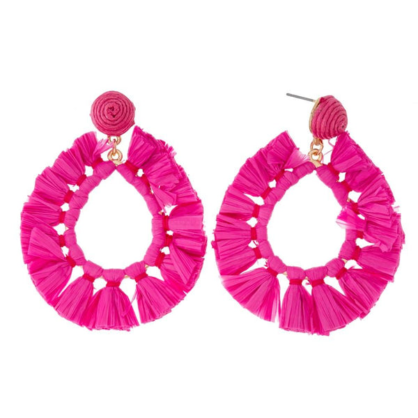 Earrings - Tassel Teardrop Earring