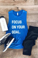 Graphic Tee - Focus On Your Goal