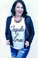 Graphic Tee - Te-quila & Limes Tank