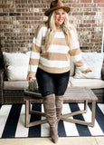 Lucy Stripe Sweater