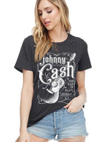 Johnny Cash Graphic Top