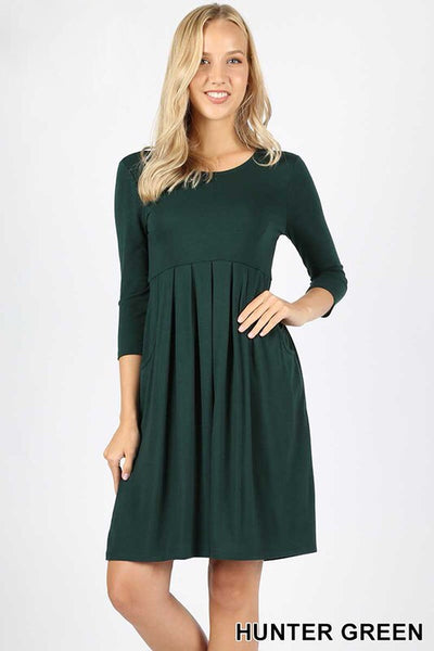 Mia Pleated Dress