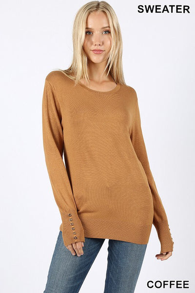 Sophia Sweater ~ Coffee