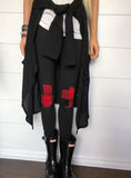 Plaid Knee Patch Leggings