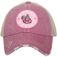 Booze Cruise Trucker Hats