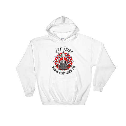 Art Tribe 01 - Light - Hooded Sweatshirt