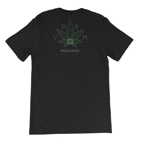Black Leaf - Unisex short sleeve t-shirt - Vorm Clothing Co.