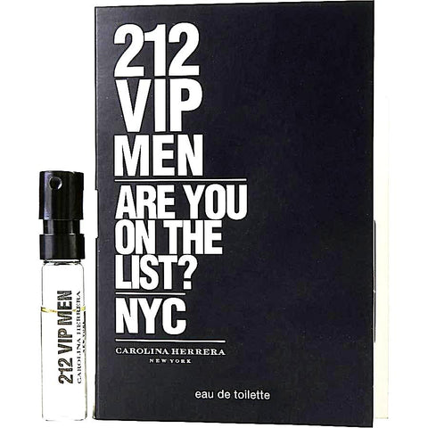 212 VIP Men by Carolina Herrera Vial Sample