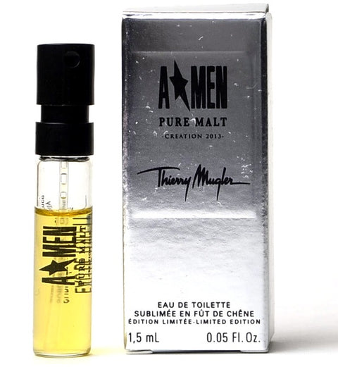A MEN PURE MALT CREATION 2013 by Thierry Mugler Vial Sample