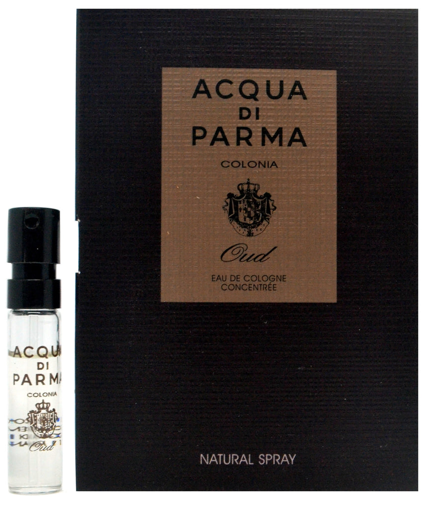 Acqua Di Parma Oud Eau De Concentree Vial Sample 1.5ml - 0.05oz Spray