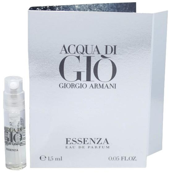 Acqua Di Gio Essenza by Giorgio Armani Vial Sample