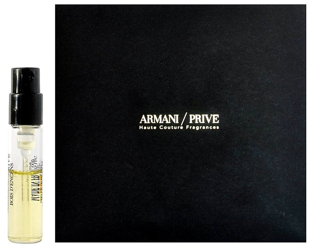 Armani Prive Bois D'ences by Giorgio Armani Perfume Vial Sample