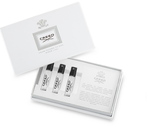Creed Customizable Sampler Set ( 3 Samples in each Box)