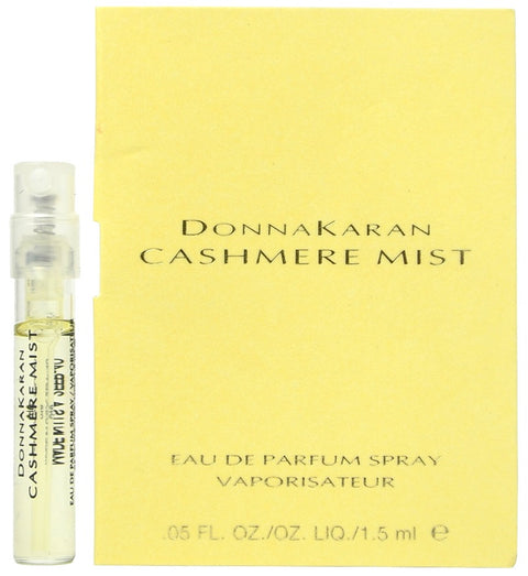 Cashmere Mist by Donna Karen Spray Perfume Vial Sample  1.5ml - 0.05oz EDP
