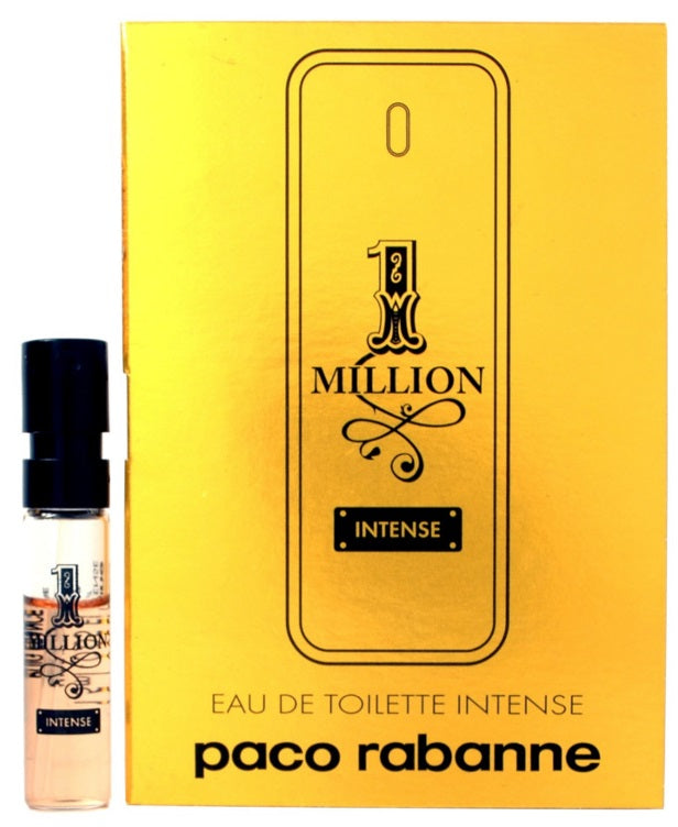 1 Million (INTENSE) by Paco Rabanne For Him Vial Sample