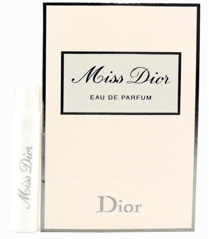 Miss Dior Eau De Parfume Vial Sample