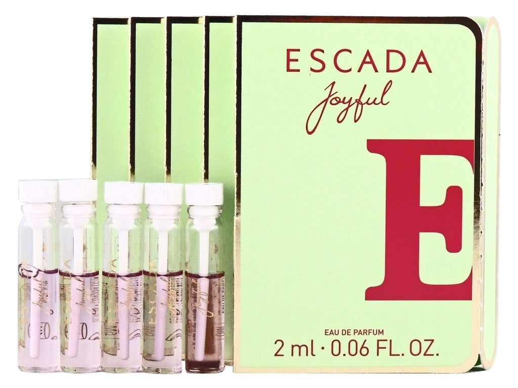 Escada Joyful (PACK OF 5 SAMPLES  Vial Sample)