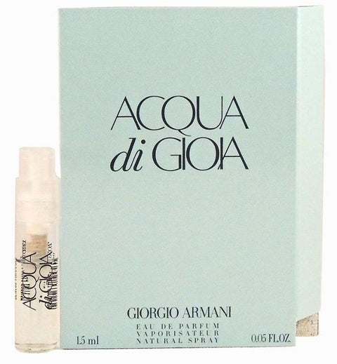 Acqua Di Gioia by Giorgio Armani EDP 1.5ml - 0.05oz Vial Sample For Her