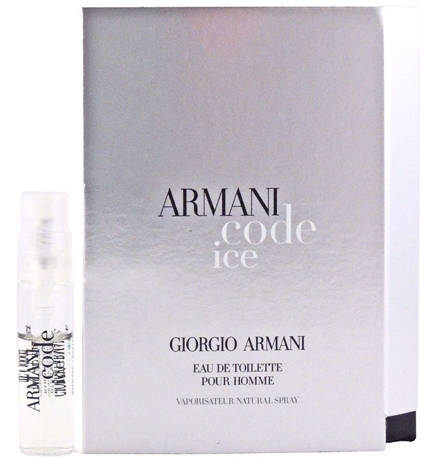Armani Code Ice By Giorgio Armani For Him