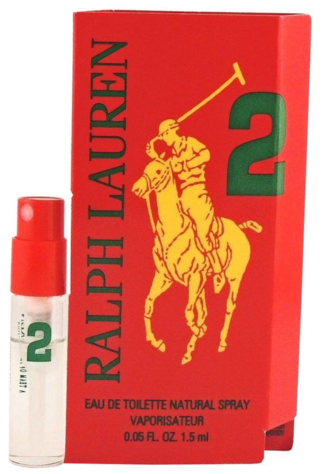 Polo Big Pony Red No. 2 By Ralph Lauren  Vial Sample