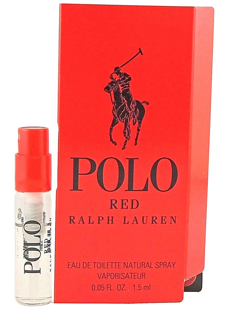 Polo Red by Ralph Lauren For Him Vial Sample