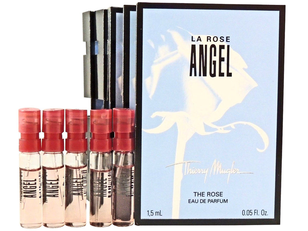 Angel La Rose By Thierry Mugler (PACK OF 5 SAMPLES)