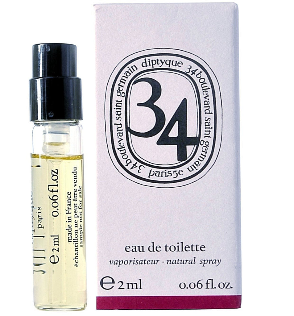 34 Boulevard St. Germain by Diptyque Vial Sample