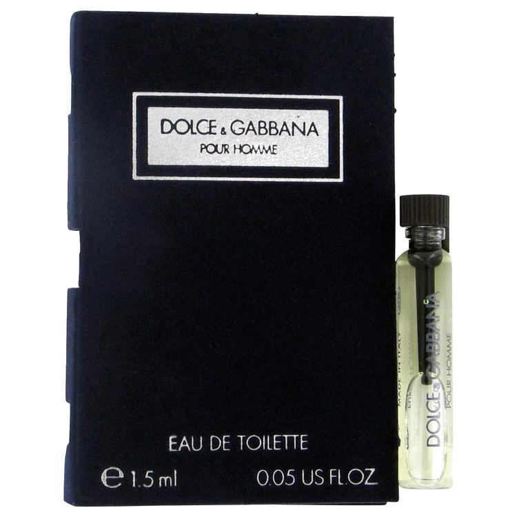 DOLCE & GABBANA by Dolce & Gabbana Vial (sample) .06 oz