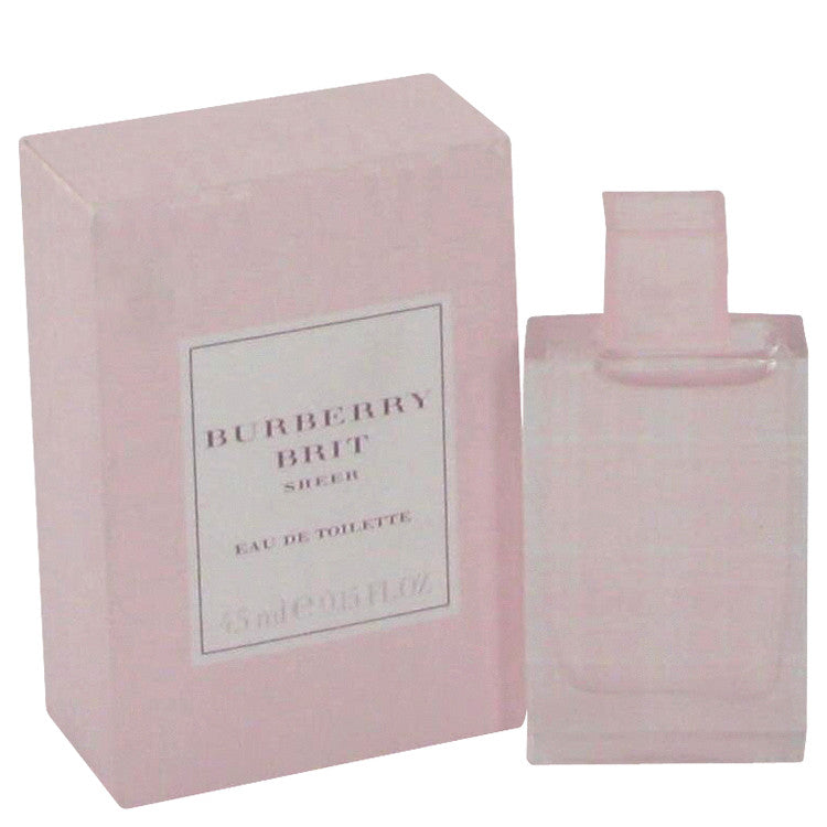 Burberry Brit Sheer by Burberry Mini EDT .17 oz for Women