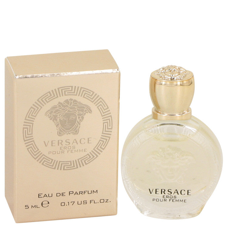 Versace Eros by Versace Mini EDP .17 oz for Women