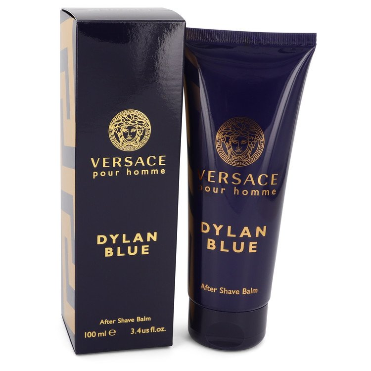 Versace Pour Homme Dylan Blue by Versace After Shave Balm 3.4 oz for Men