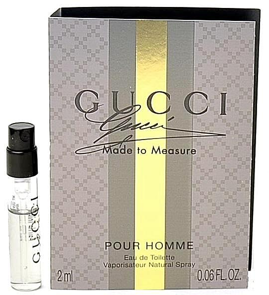 Gucci Made To Measure Cologne Vial Sample