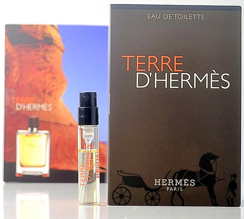Terre D'hermes by Hermes Vial Sample