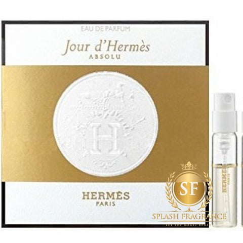 Jour D'Hermes by Hermes Spray Perfume Vial Sample EDP 2ml - 0.06oz